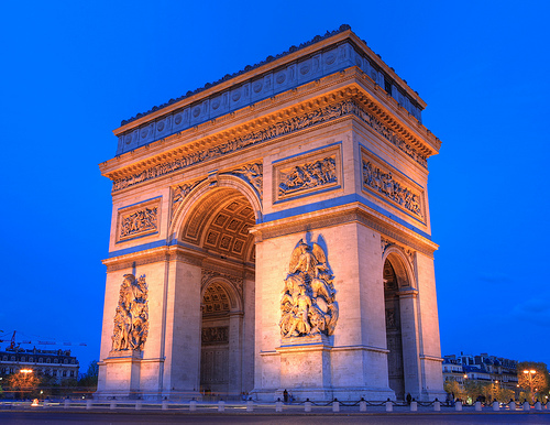 (c) Arc de Triumph, Paris, Anirudh Koul by Flickr