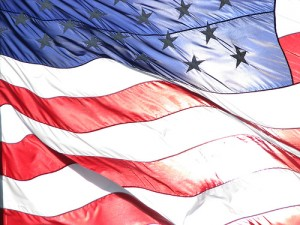 American Flag of the United States of America (USA Flag) von jcolman by Flickr.com