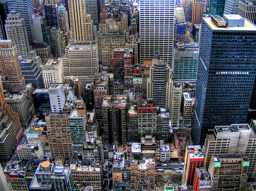 New York Skyline von CJ.Isherwood by Flickr.com