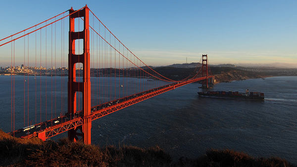 Golden Gate Bridge cc Wilson Hui / Flickr