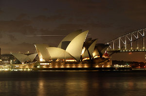 sydney by earth hour global /flickr