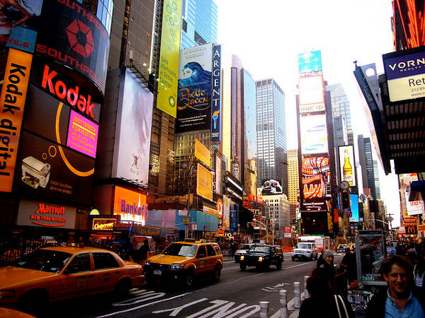 Timesquare Manhattan cc kaysha/Flickr