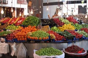 Lebensmittel in der Türkei