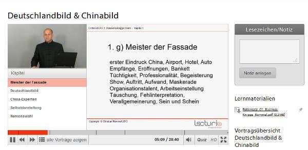 Kursansicht bei Lecturio.de