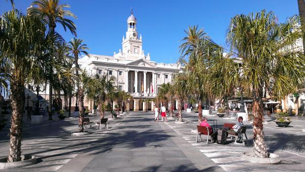 Cadiz Innenstadt