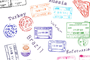 Mit Visum ins Ausland