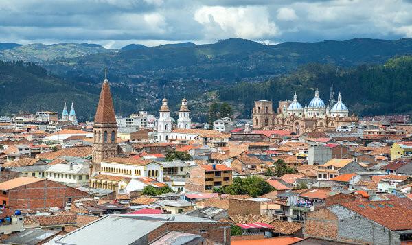 Kolonialstadt Cuenca in Ecuador
