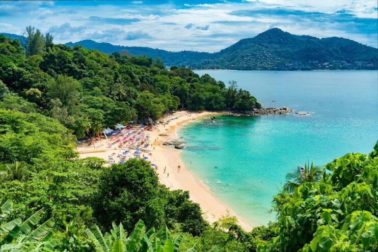 Am Strand in Phuket / Thailand