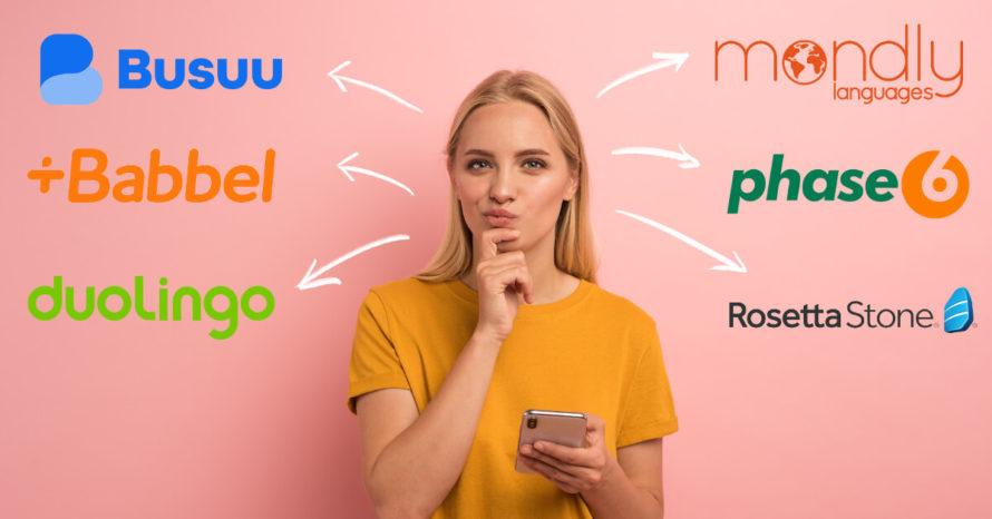 Die besten Sprachlern-Apps