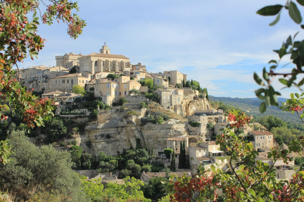 Das Bilderbuchdorf Gordes in der Provence