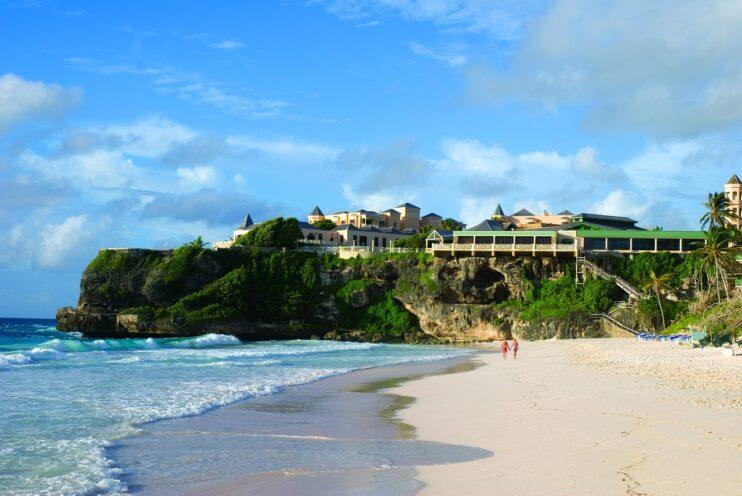 Am Strand von Barbados