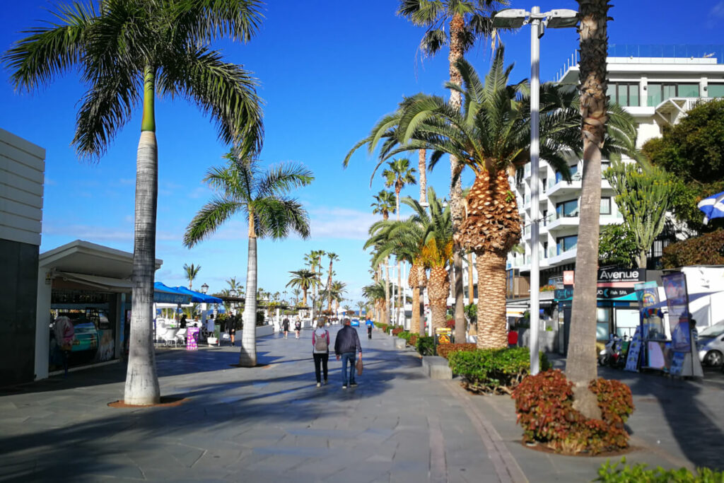 Promenade von Puerto de la Cruz