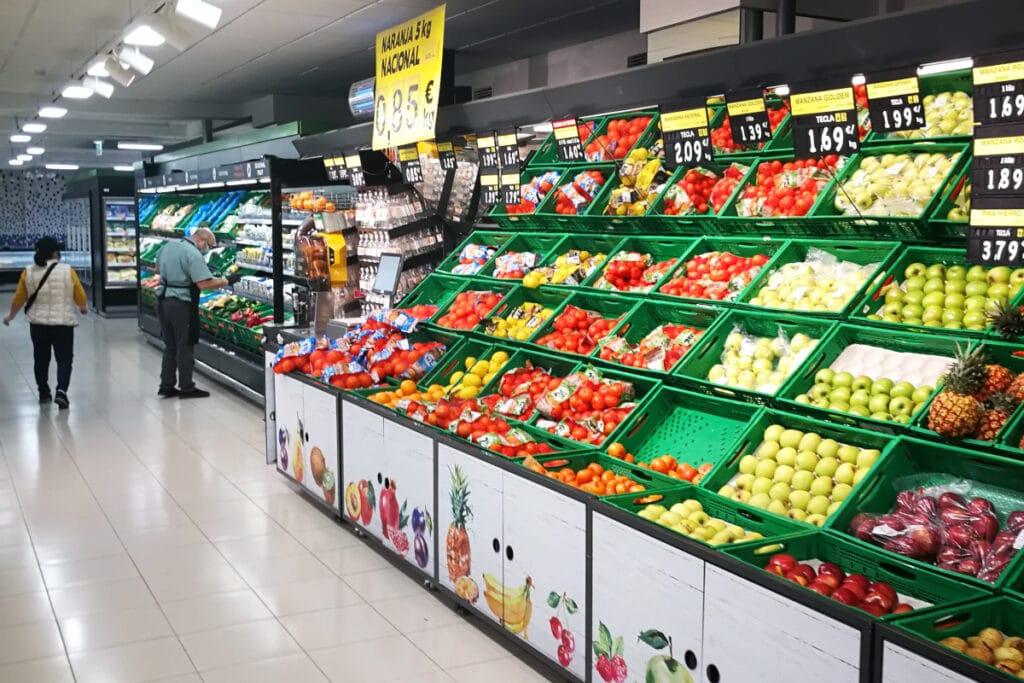Im Supermarkt auf den Kanaren