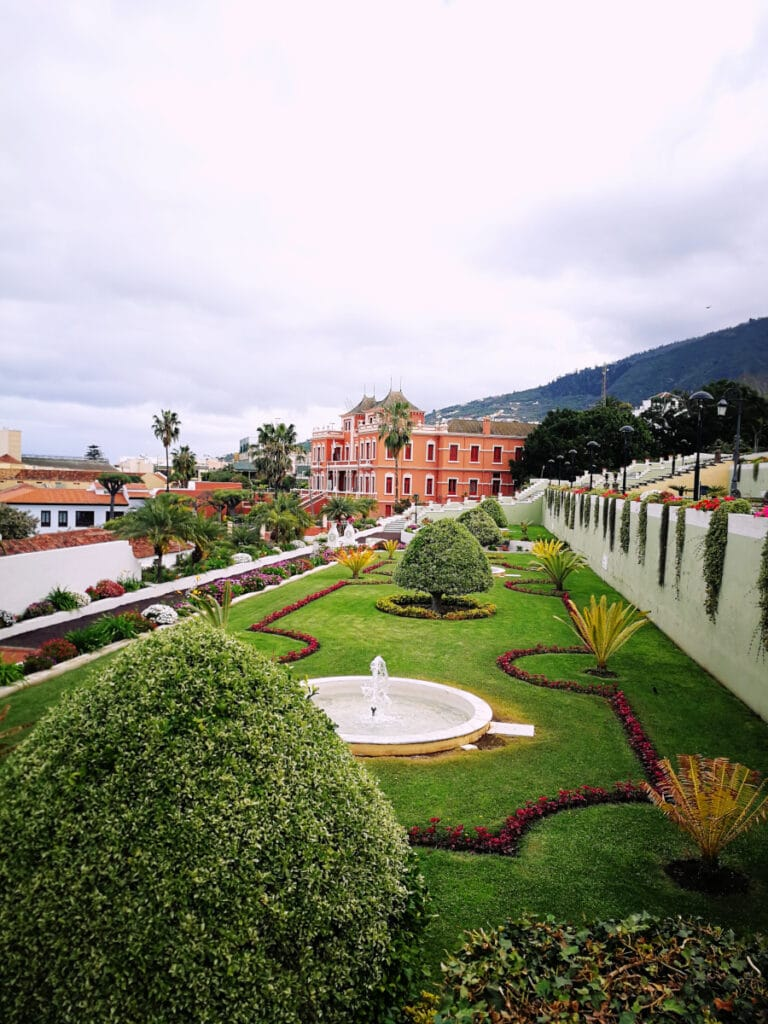 Victoria Gardens in La Orotava